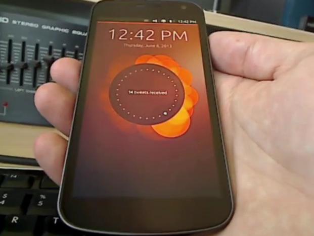 ubuntu phone demo jono 20130607