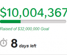 Ubuntu Edge supera i 10 milioni ma lontano dall'obiettivo. Proroga?