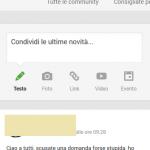 Bug di Google+? Faccina e poi PS nel commento e sei bannato