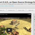 Crowdfunding 0 A.D. raccoglie 33.000 $