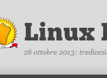 Il Linux Day 2013 si avvicina: questo sabato in tutta Italia