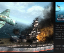 Air Conflicts Pacific Carrier su Steam per Linux