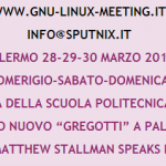 GnuLinuxMeeting 28-30 marzo a Palermo, ospite Richard Stallman