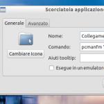 Lubuntu: collegamenti a cartelle con spazi nel nome