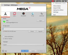 Disponibile MEGAsync per Linux, il client di MEGA.co.nz
