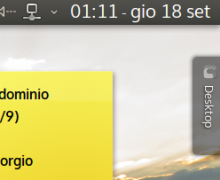 Personalizzare data e ora in KDE: il mio tema per Adjustable Clock